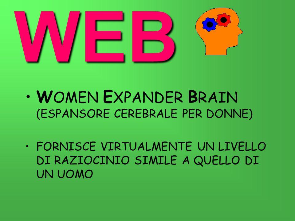 WEB WOMEN EXPANDER BRAIN (ESPANSORE CEREBRALE PER DONNE)