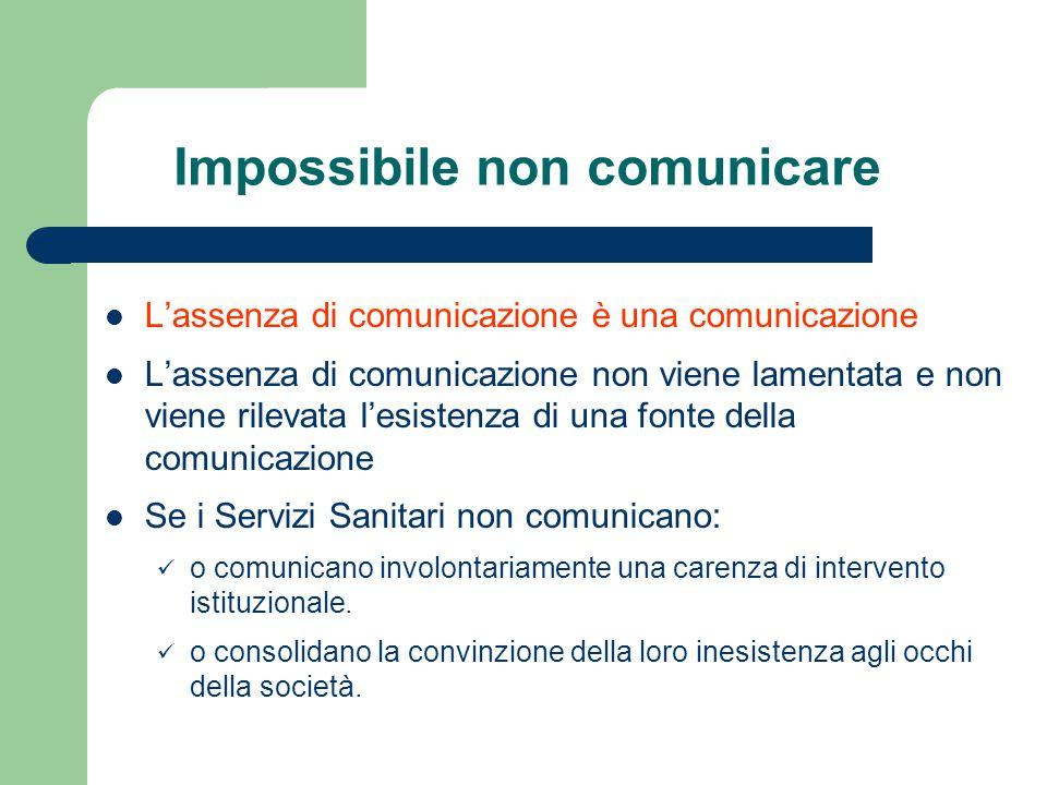 Impossibile non comunicare