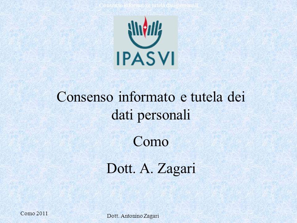 Consenso informato e tutela dei dati personali