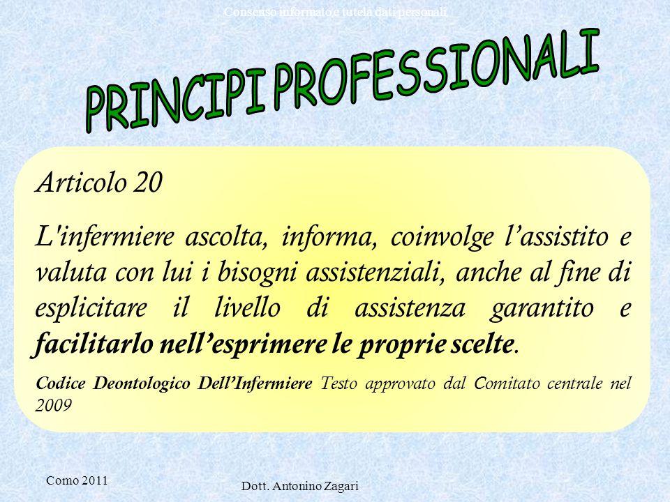 PRINCIPI PROFESSIONALI