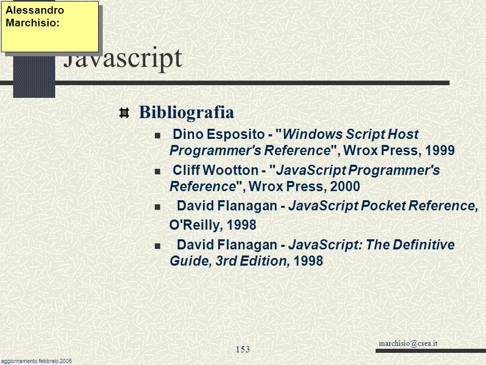 Javascript Bibliografia