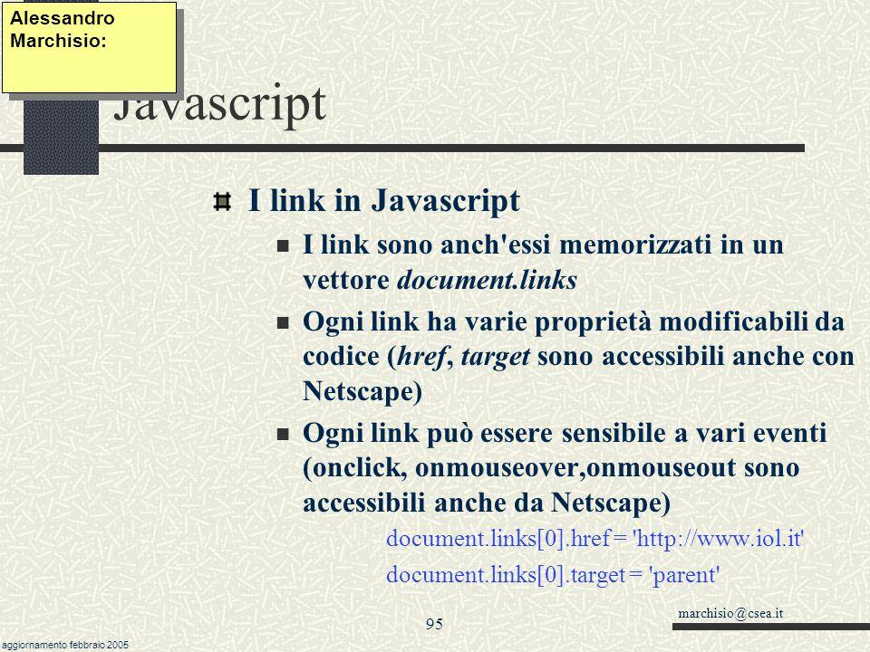 Javascript I link in Javascript