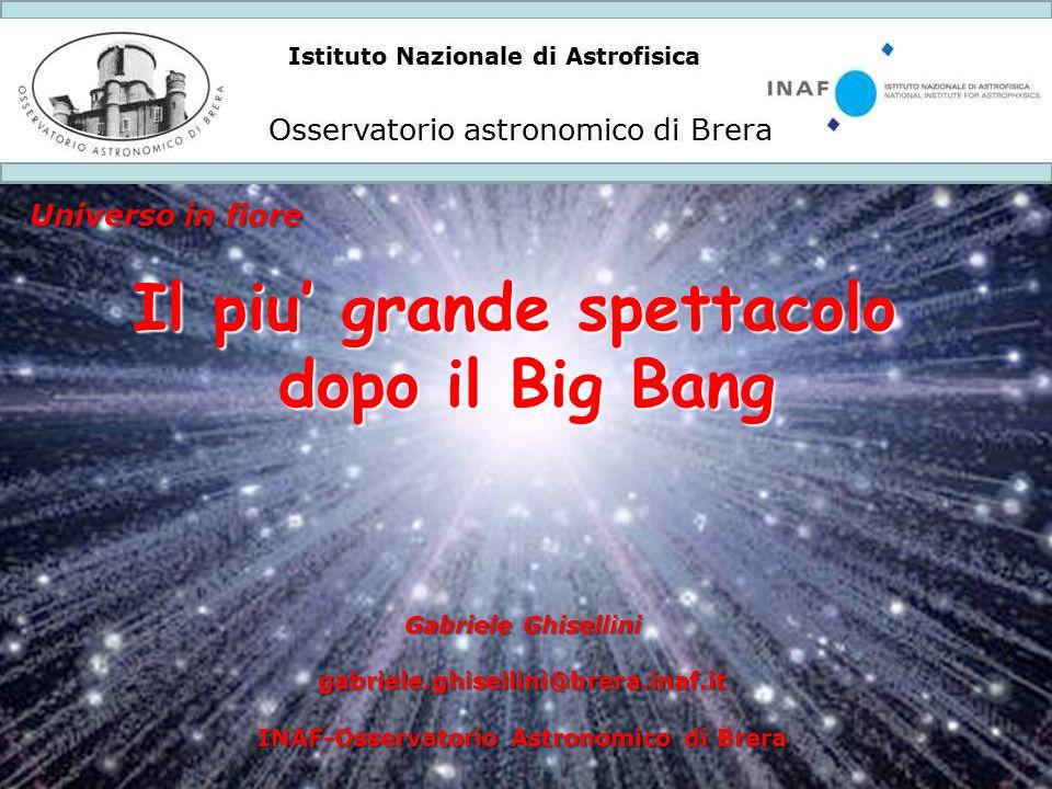 Il piu' grande spettacolo INAF-Osservatorio Astronomico di Brera