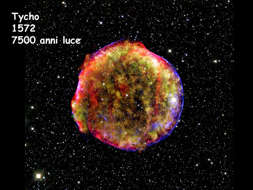 Tycho 1572 7500 anni luce