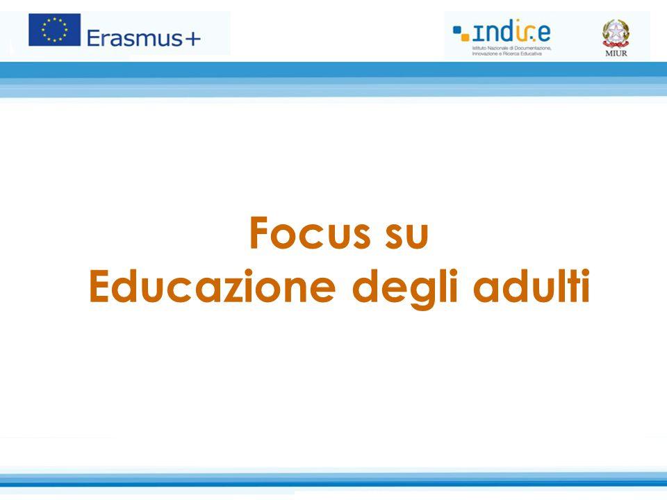 Focus su Educazione degli adulti