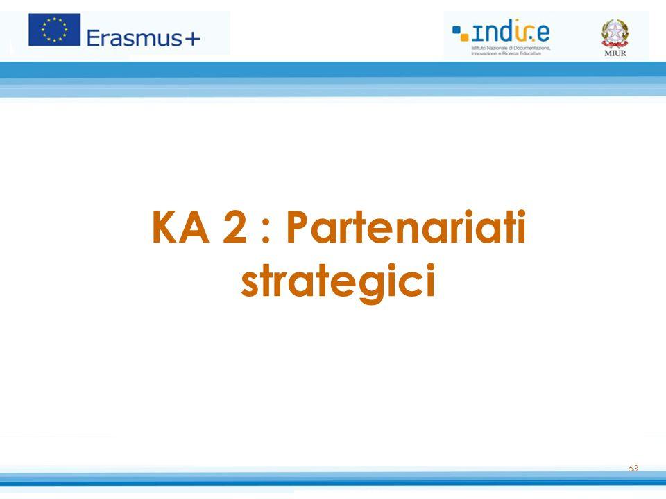 KA 2 : Partenariati strategici
