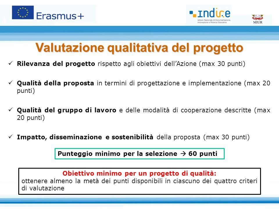 Valutazione qualitativa del progetto