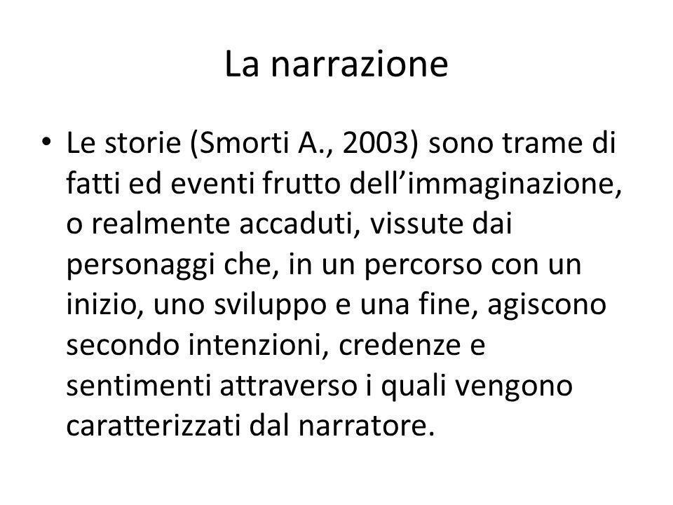 La narrazione