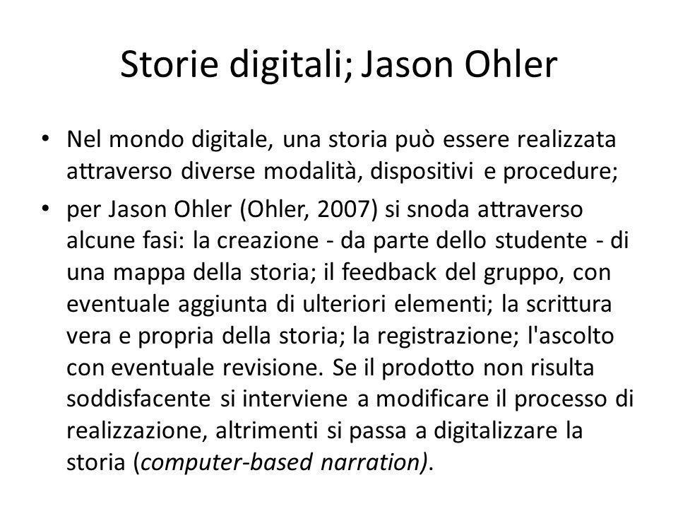 Storie digitali; Jason Ohler