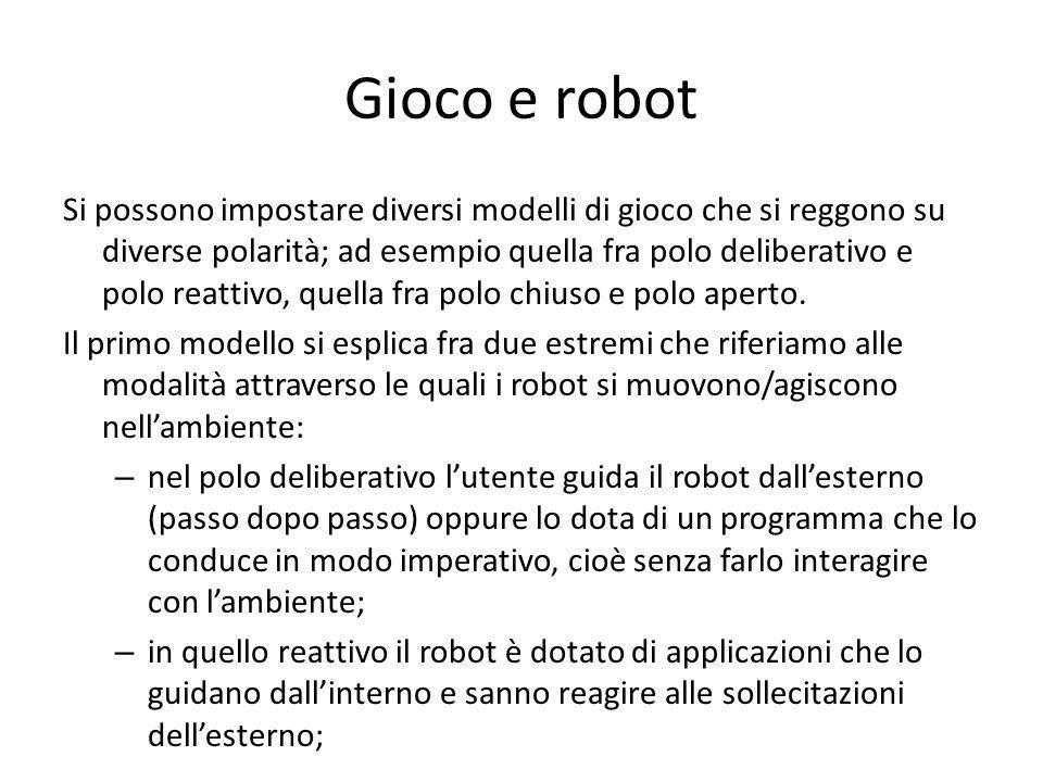 Gioco e robot