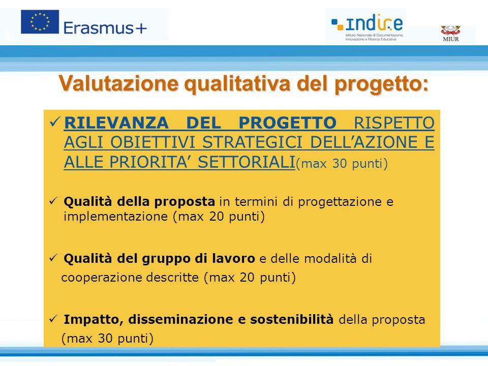 Valutazione qualitativa del progetto: