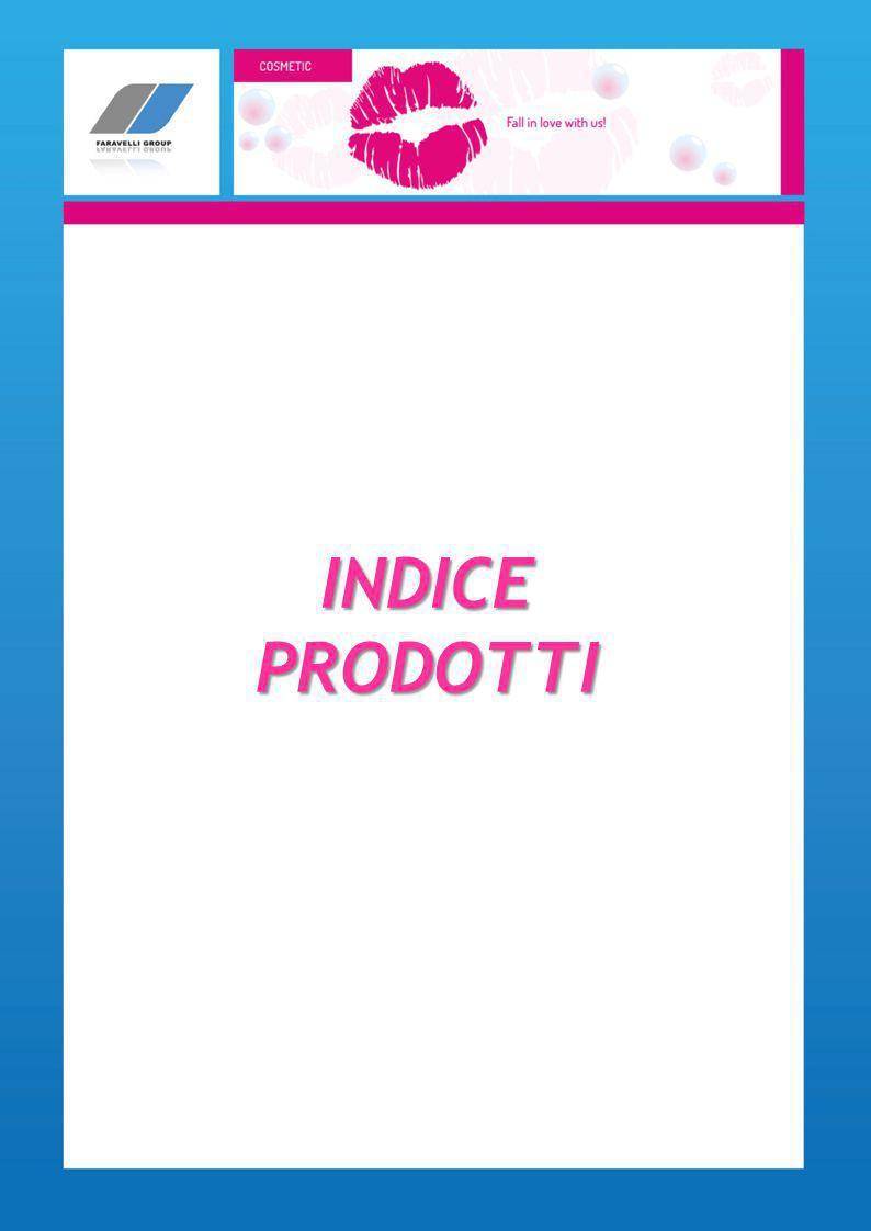 INDICE PRODOTTI