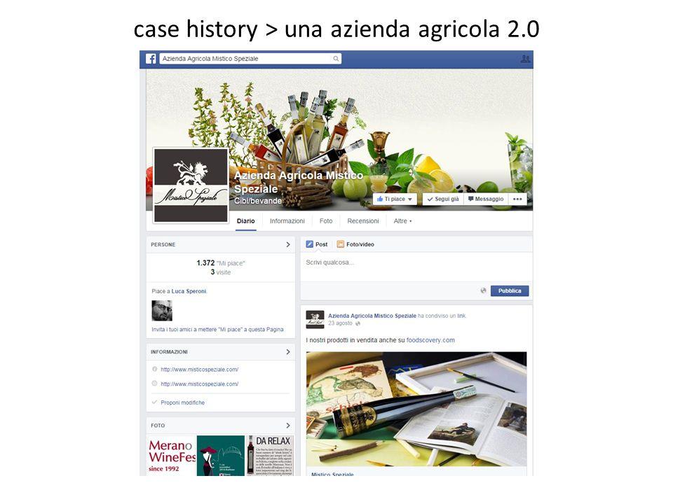 case history > una azienda agricola 2.0