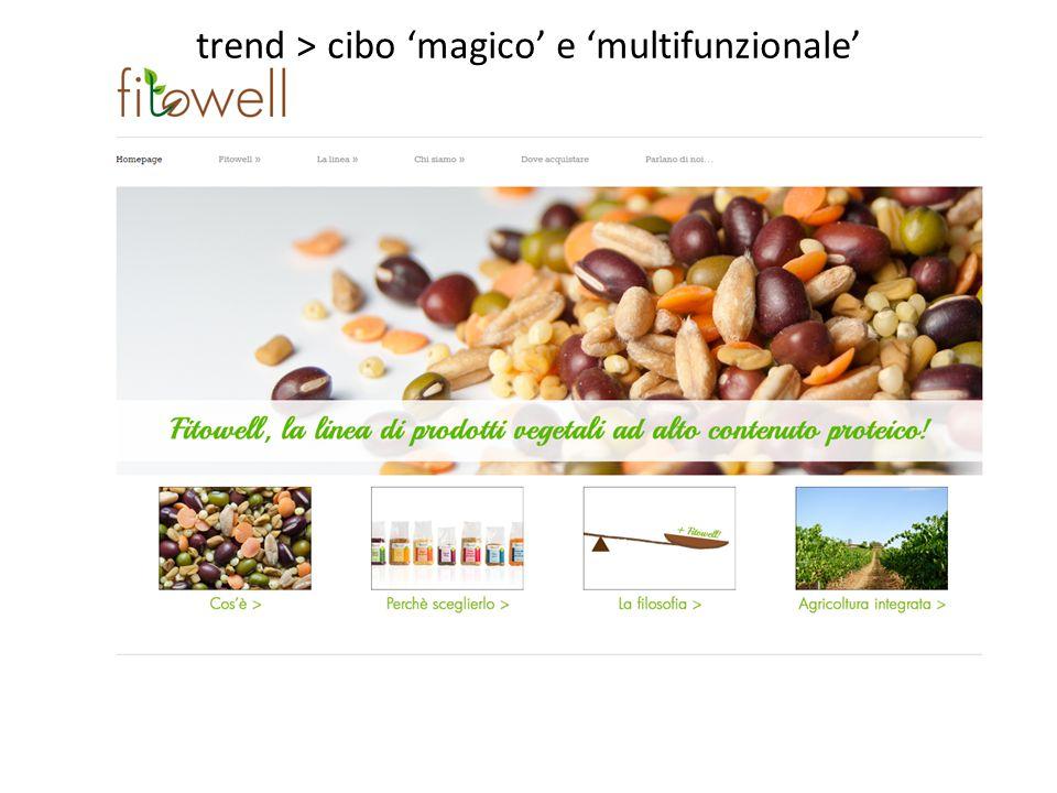 trend > cibo 'magico' e 'multifunzionale'