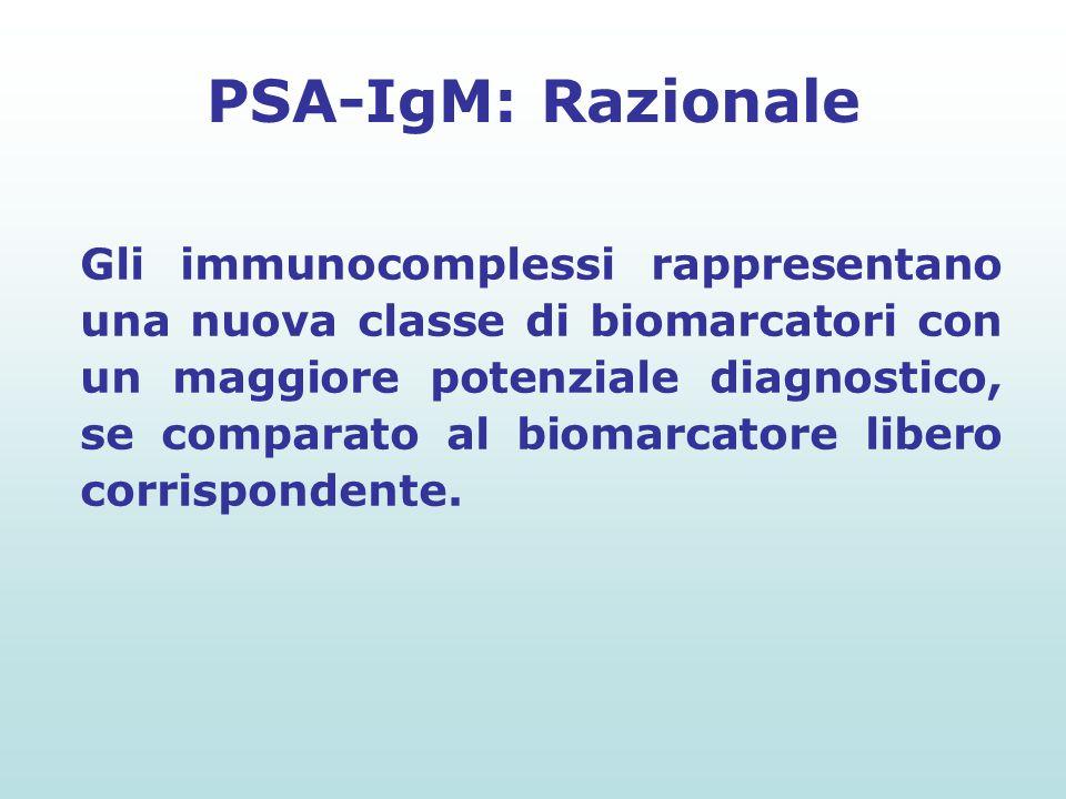 PSA-IgM: Razionale