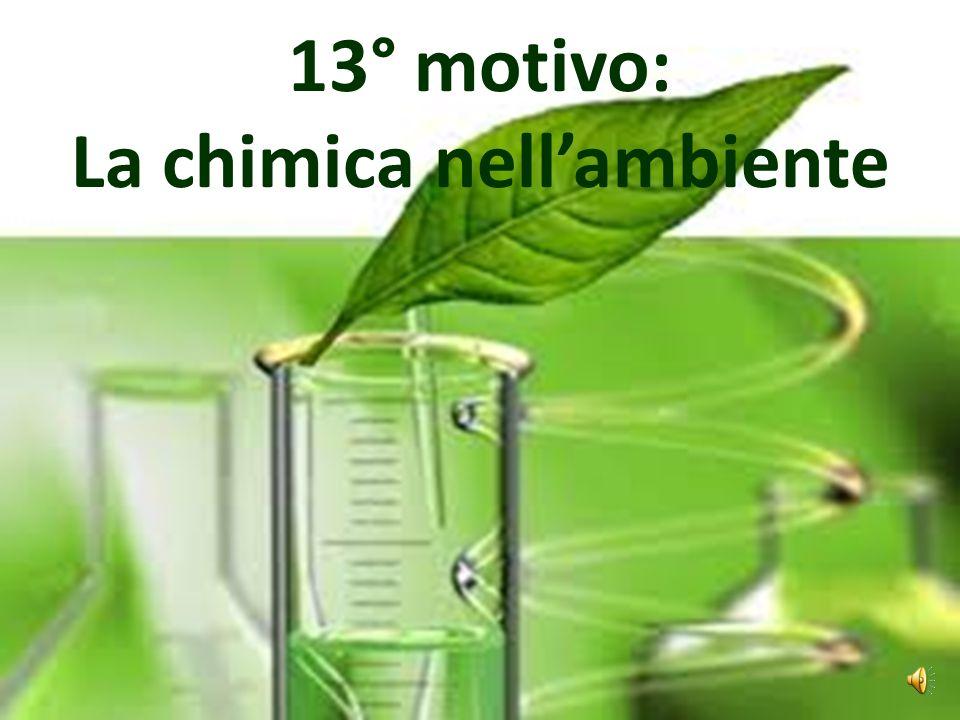 La chimica nell'ambiente