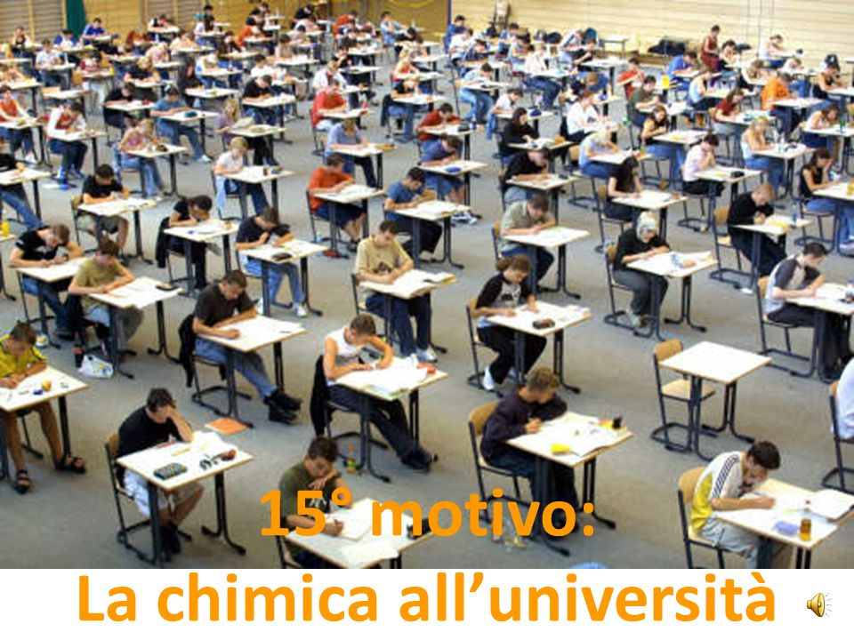 La chimica all'università