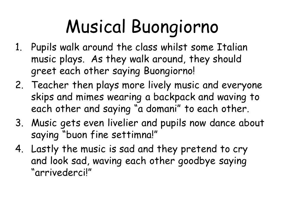 Musical Buongiorno