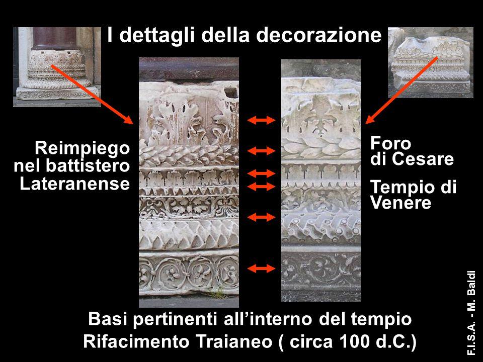 I dettagli della decorazione