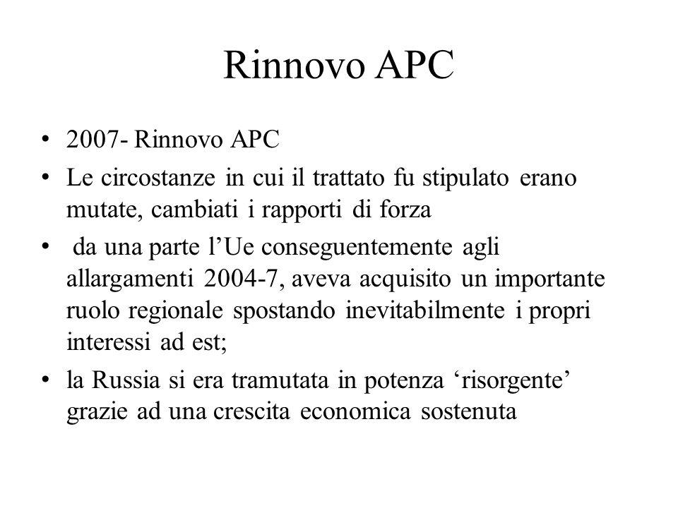 Rinnovo APC 2007- Rinnovo APC