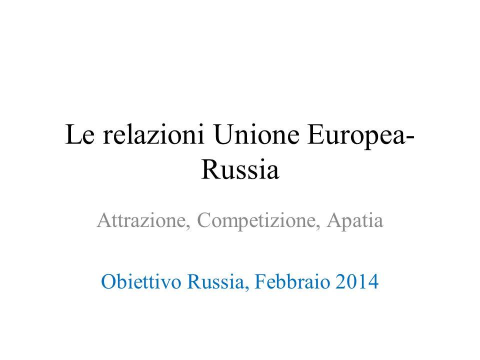 Le relazioni Unione Europea-Russia