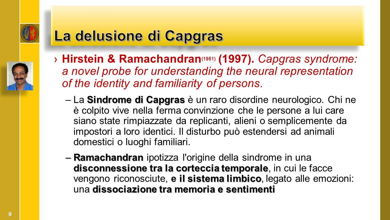 La delusione di Capgras