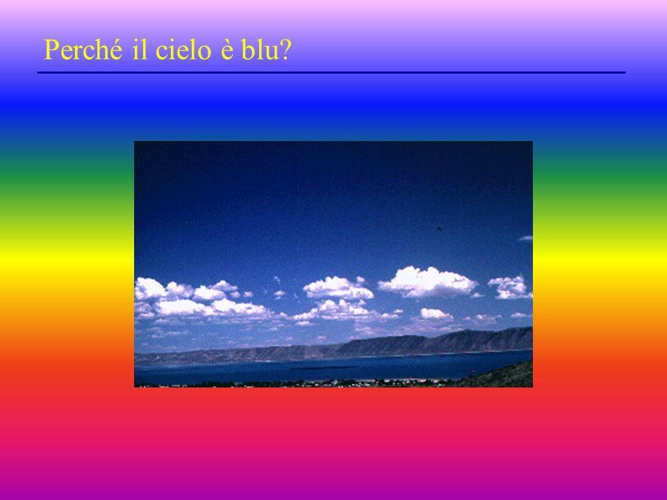 Perché il cielo è blu