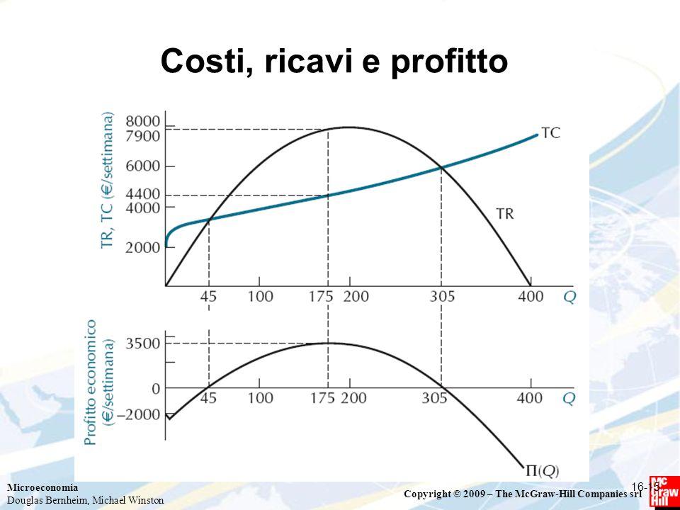 Costi, ricavi e profitto