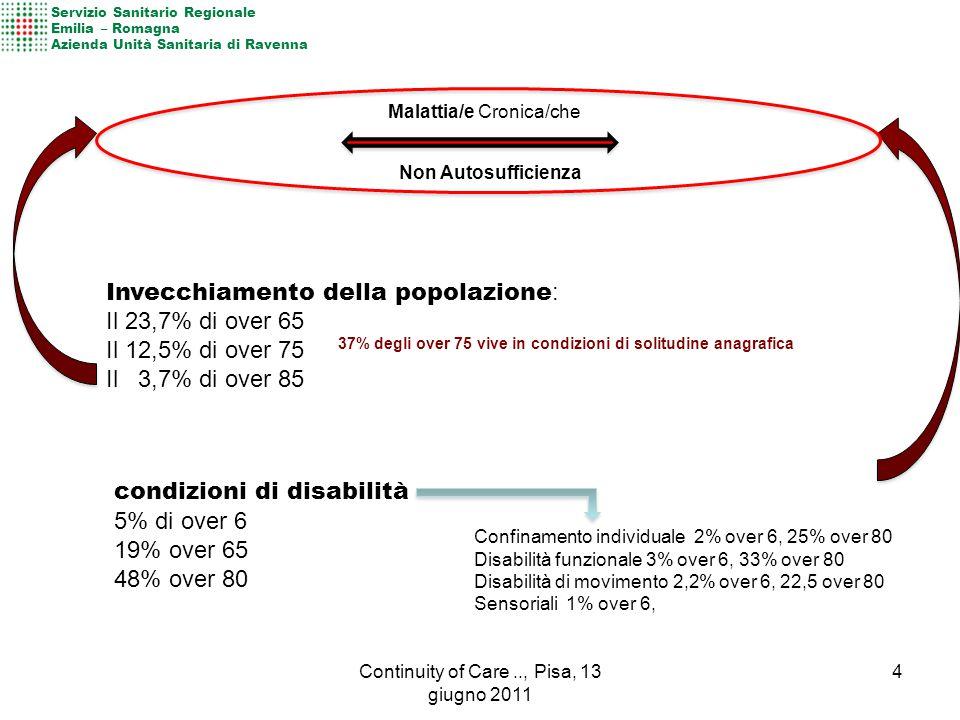Continuity of Care .., Pisa, 13 giugno 2011