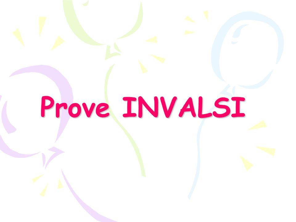 Prove INVALSI