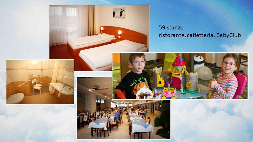 59 stanze ristorante, caffetteria, BabyClub