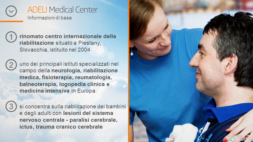 ADELI Medical Center Informazioni di base