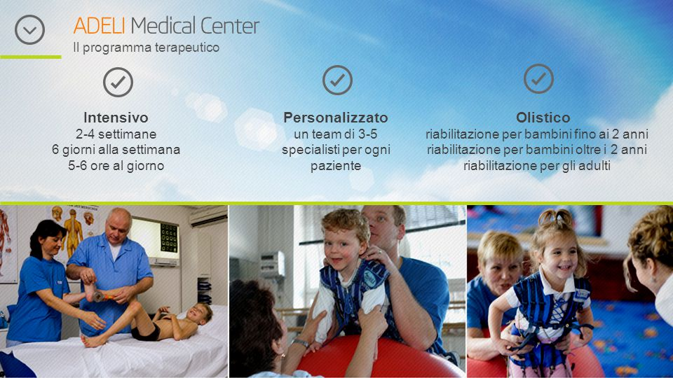 ADELI Medical Center Il programma terapeutico