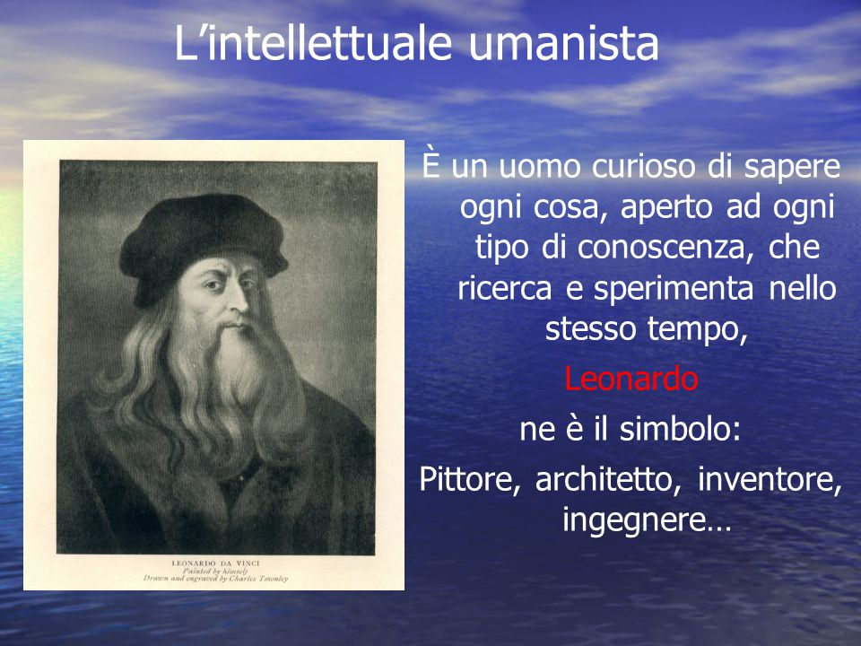 L'intellettuale umanista