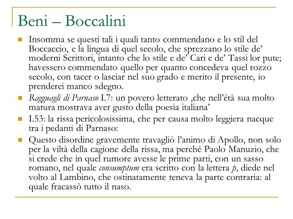 Beni – Boccalini