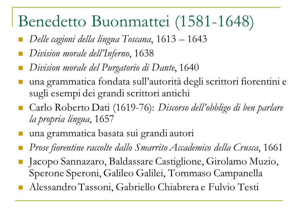 Benedetto Buonmattei (1581-1648)