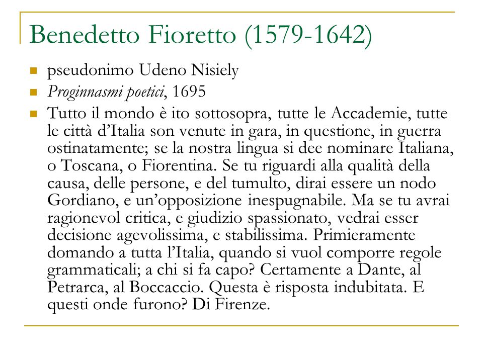 Benedetto Fioretto (1579-1642)