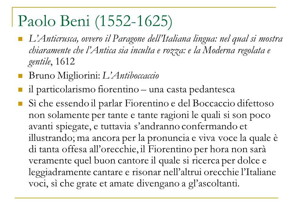 Paolo Beni (1552-1625)