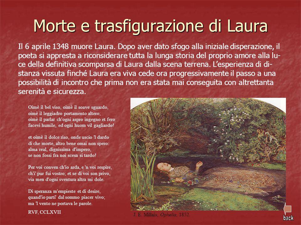 Morte e trasfigurazione di Laura