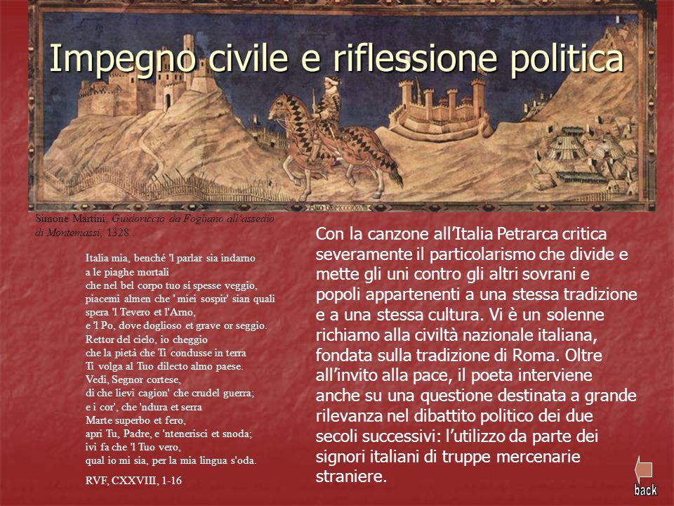 Impegno civile e riflessione politica