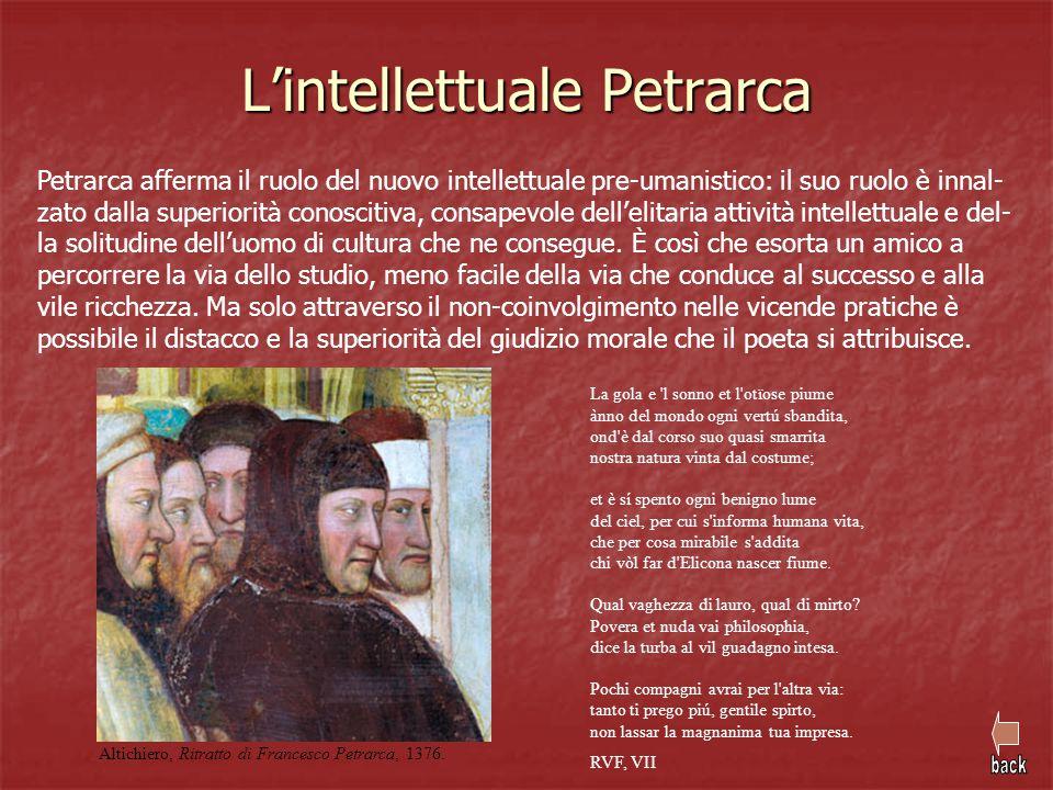 L'intellettuale Petrarca