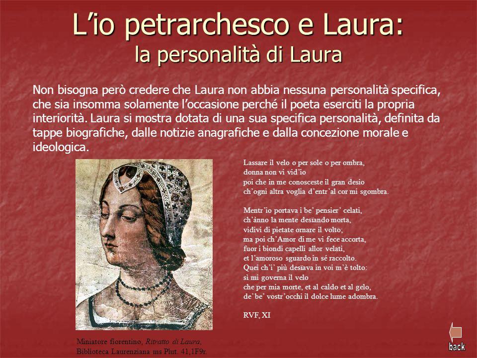 L'io petrarchesco e Laura: la personalità di Laura