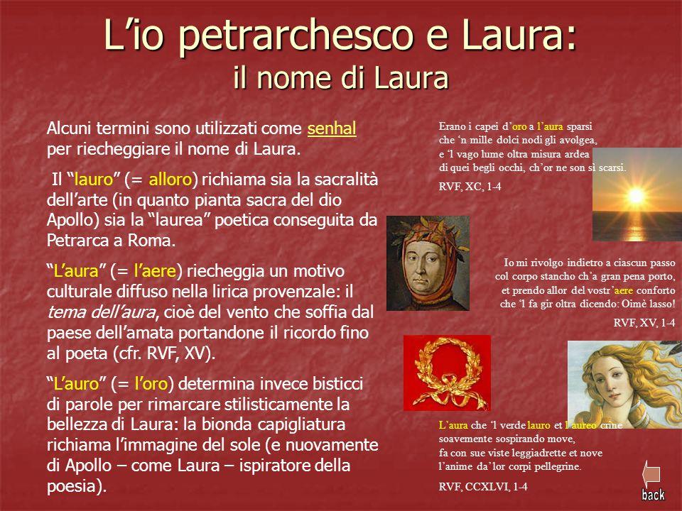 L'io petrarchesco e Laura: il nome di Laura