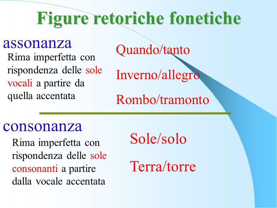 Figure retoriche fonetiche