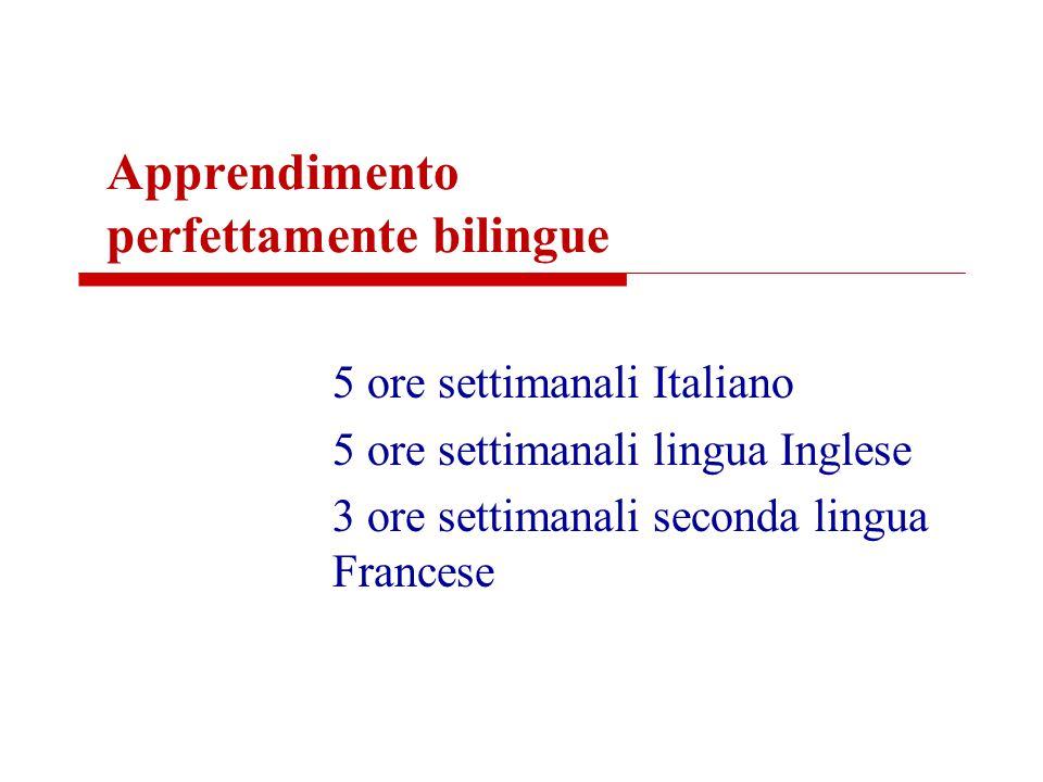 Apprendimento perfettamente bilingue