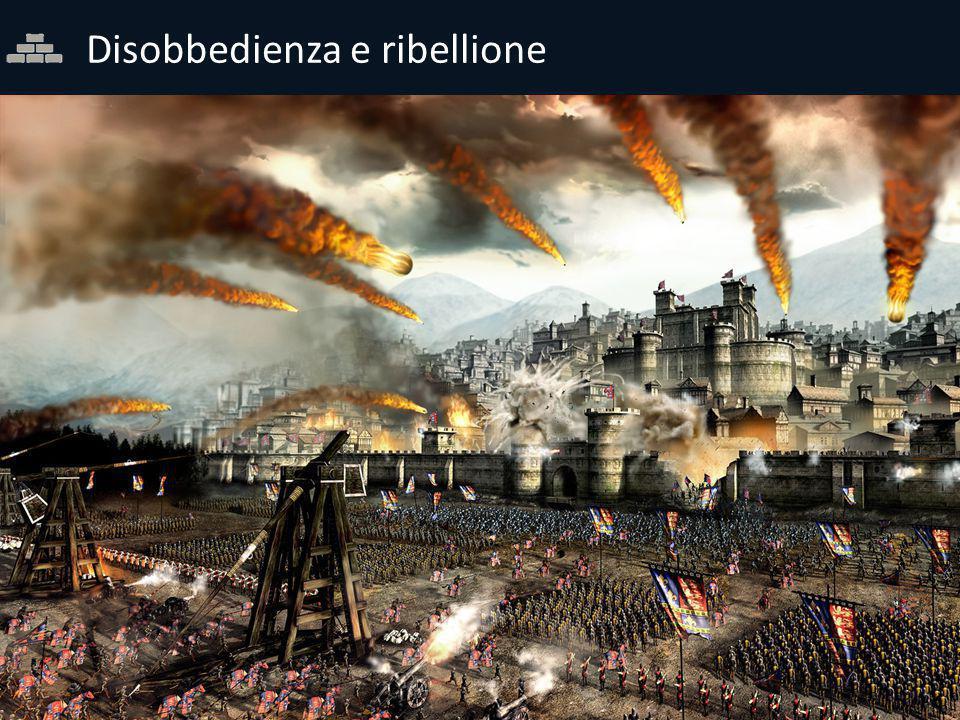 Disobbedienza e ribellione