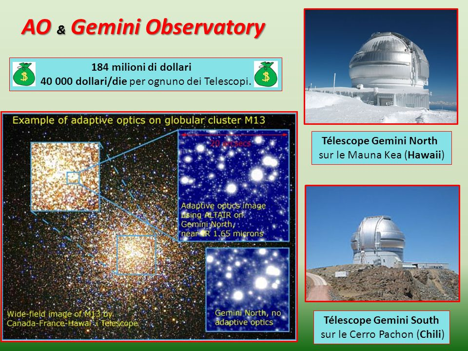 AO & Gemini Observatory