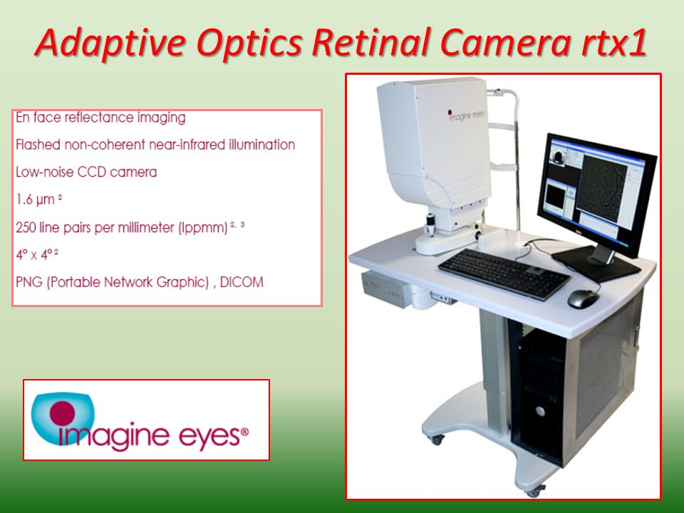 Adaptive Optics Retinal Camera rtx1