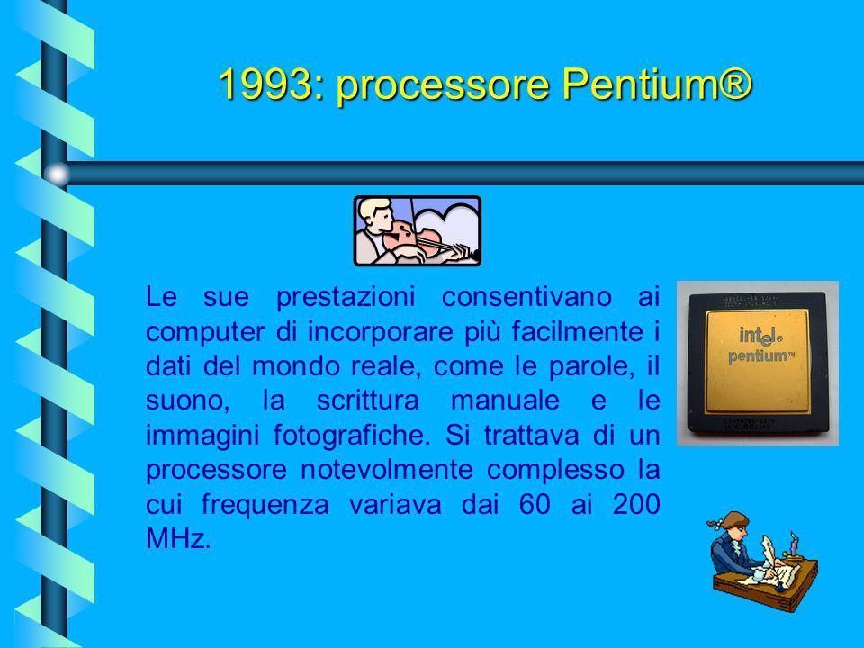 1993: processore Pentium®