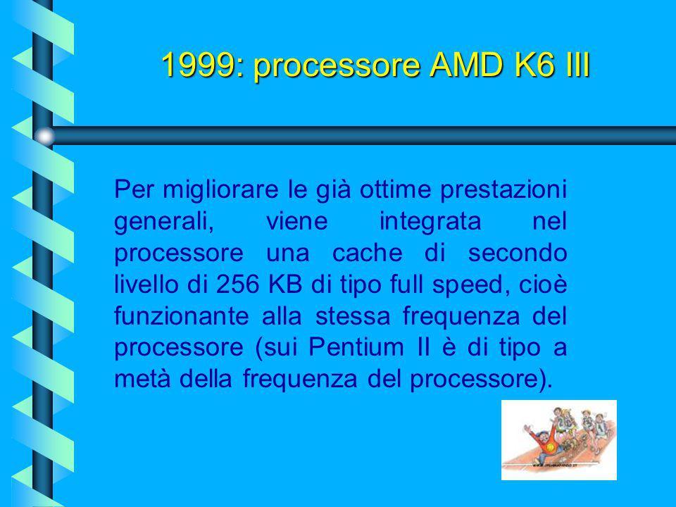 1999: processore AMD K6 III